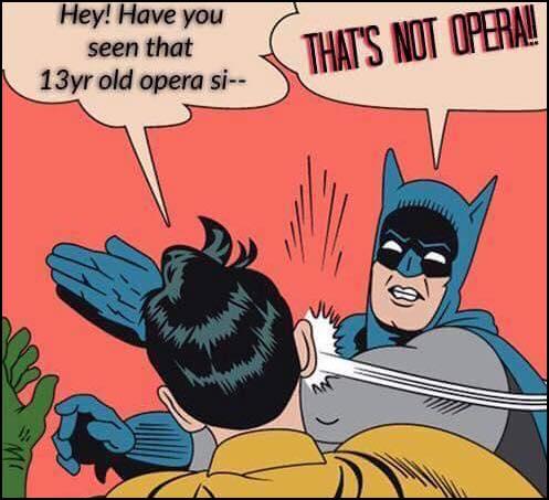 That's not opera